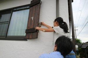 土と木と漆喰の家2年点検