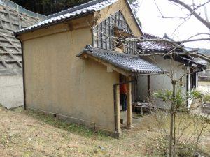 愛知県 岡崎市 蔵の改修工事 始まりました。