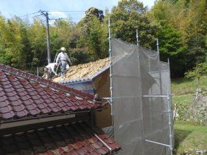 地域コミュニティとしての機能を担う 蔵の改修 解体始まりました。